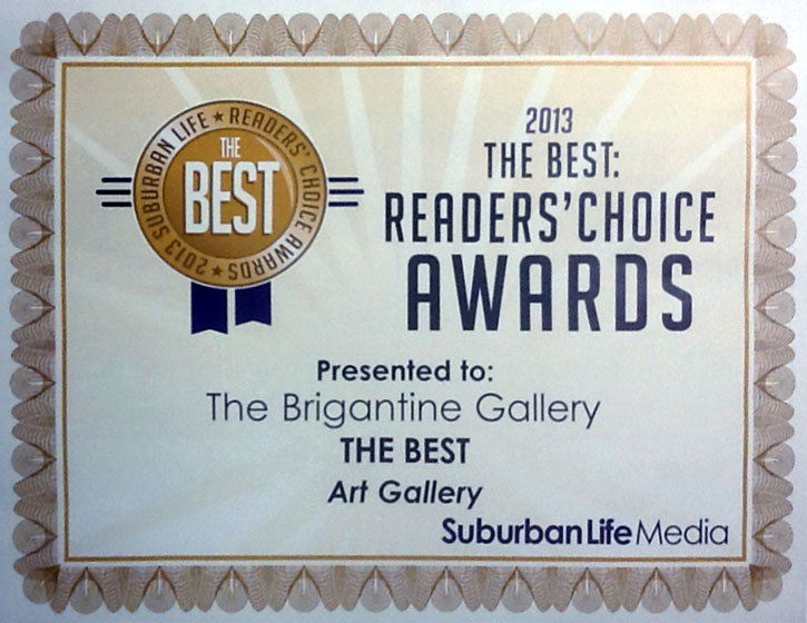 2013 Suburban Life Readers Choice award picture
